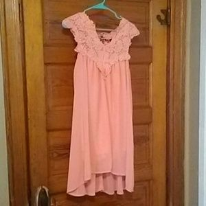 Dresses & Skirts - Lace topped dress